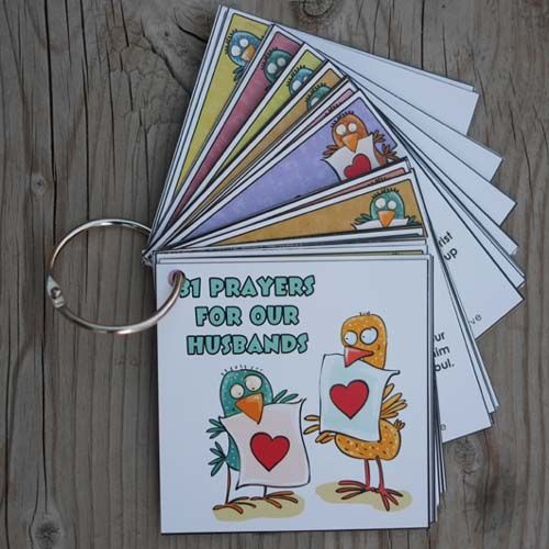 They're Here!! Prayer Cards for Our Husbands!! - Time-Warp Wife   Time-Warp Wife