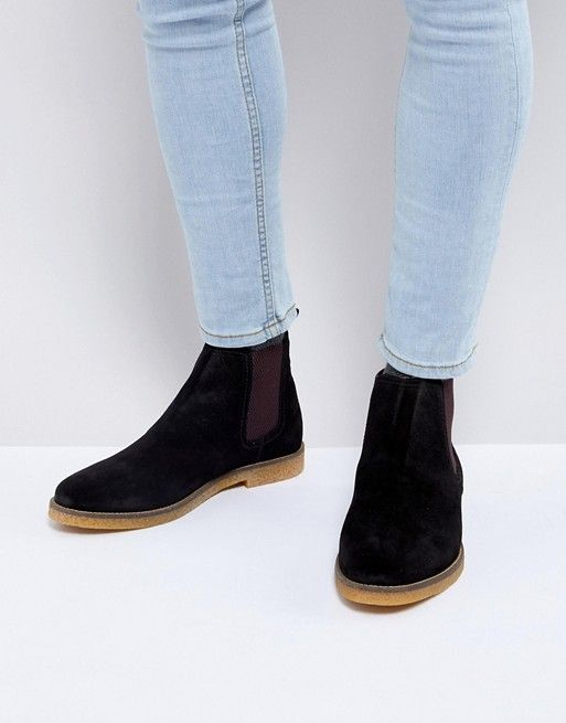 3090072b72917 Base London Ferdinand Suede Chelsea Boots