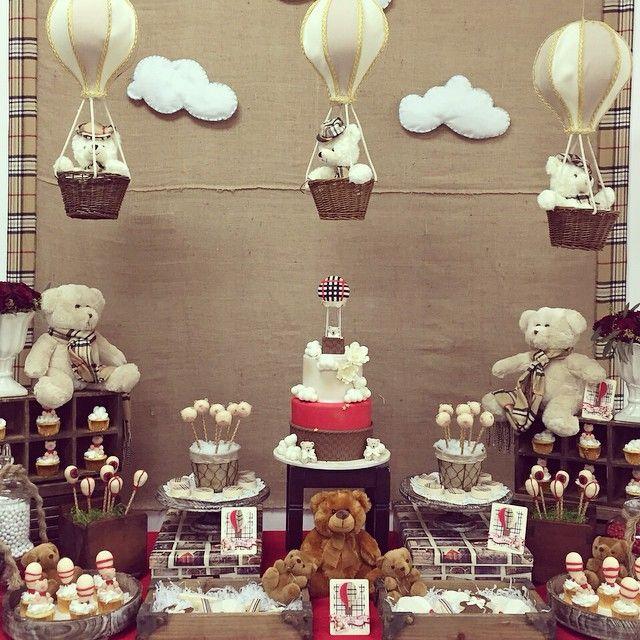 #teddy bear # air balloms #vintage #Burberry #dkoran2team #air balloms costume…