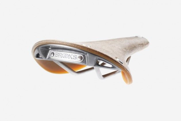 Brooks C17 Cambium Rubber and Cotton Bike Saddle   Photo
