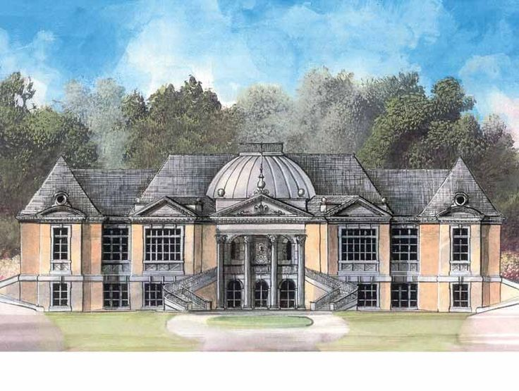 Eplans french country house plan opulent and impressive for French country house blog