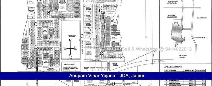 Anupam Vihar Yojana JDA Scheme Jaipur Near Sez Ajmer Road Jaipur