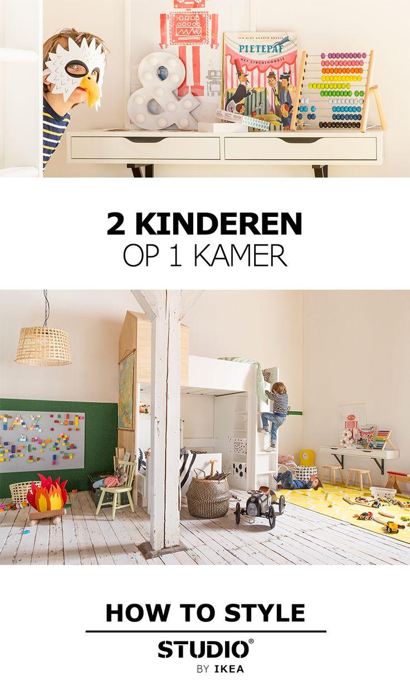 STUDIO by IKEA - 2 kinderen op 1 kamer | #IKEA #IKEAnl #STUDIObyIKEA #ruimtegebrek #kinderkamer #speelruimte #privacy #kinderen #tips #paradijs #noodzakelijk #inspiratie