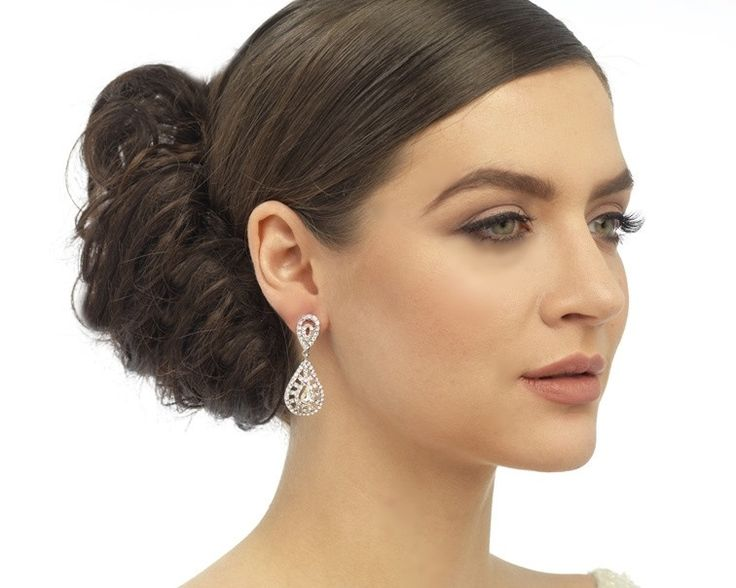 Charming Chandelier Style Earrings, Odeon | The Wedding Hair Accessory and Bridal Jewellery Experts.
