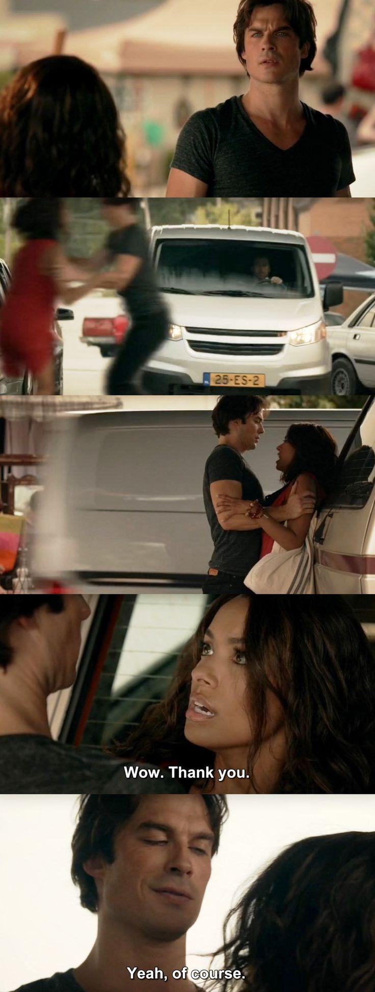 The Vampire Diaries TVD 7X01 - Damon & Bonnie
