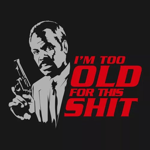 Lethal Weapon Danny Glover shirt.