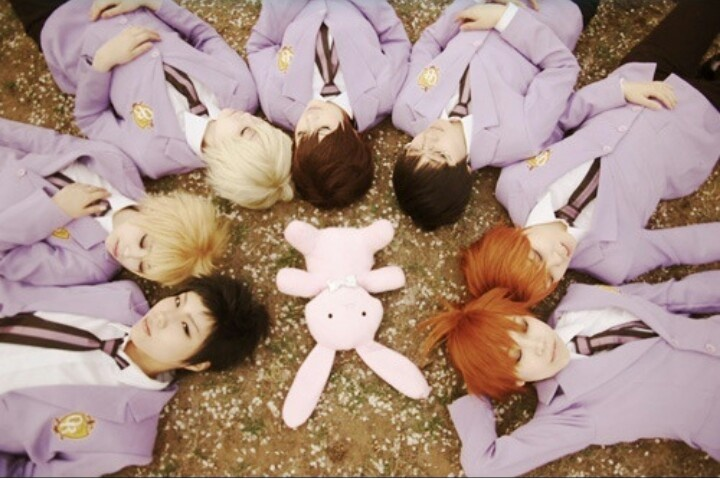 Ouran high school host club cosplay