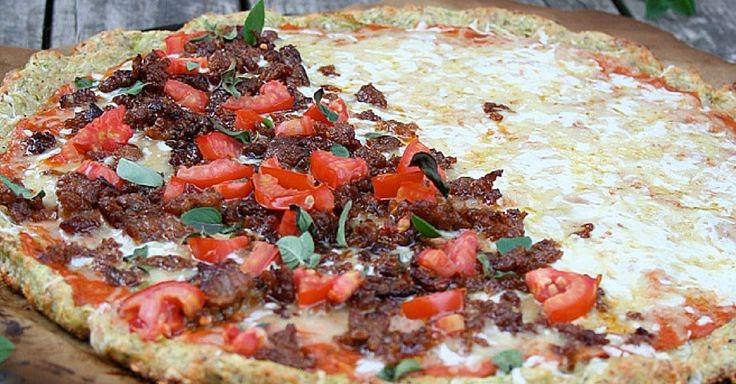 Recept na cuketovou pizzu
