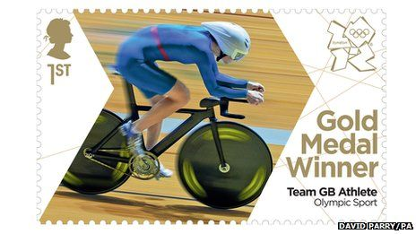 What a great idea to produce and sell Team GB Olympic Gold medal winning stamps within 24hrs of the athlete winning the event