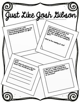 Scott Foresman: Just Like Josh Gibson-Resources and