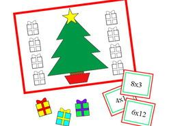 Christmas Times Tables Quiz Game, Autism, SEND