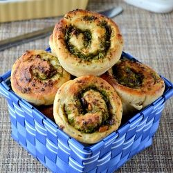Easy & Healthy snack Rolls using homemade dough and garlic butter, broccoli as filling-sure Hit with kids n adults too.Step by Step Recipe.