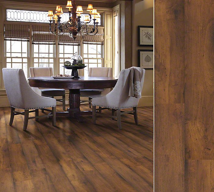 Shaw Laminate Style Landscapes In Color Landmark Hickory