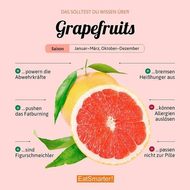 Mögt ihr Grapefruit oder ist sie euch zu bitter? Wie ihr mit der Zitrusfrucht a