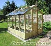 Greenhouses for sale at Greenhouse Stores. Aluminium and wooden greenhouses and UK installation service.
