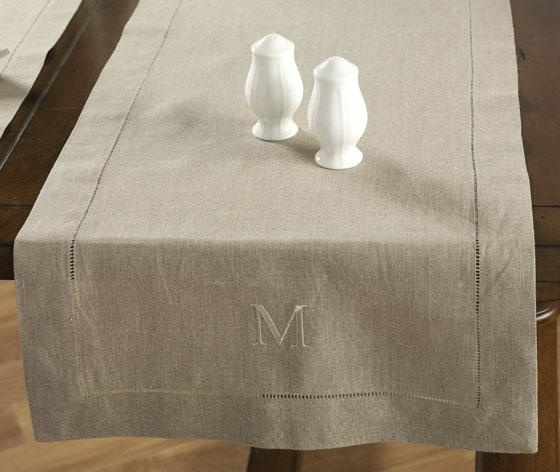 linen table runner  homedecorators.com