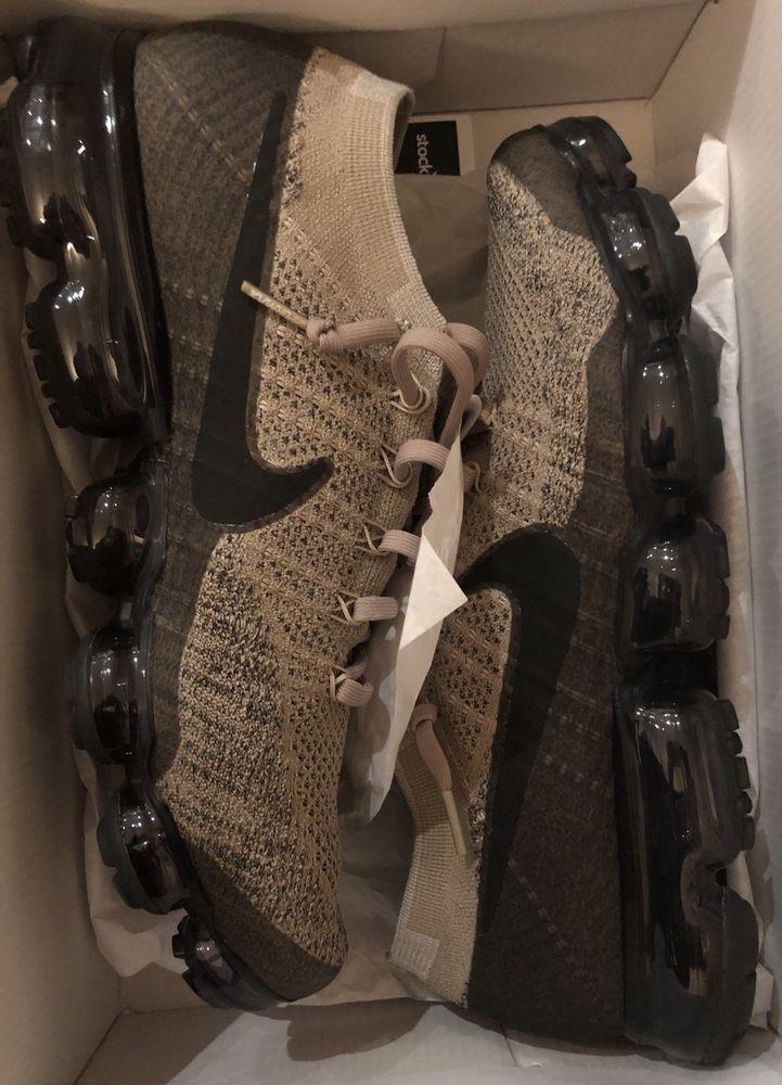 """fa9e9c64e18 Nike Air Vapormax Flyknit - Khaki Tan Anthracite Black """"Pudding"""