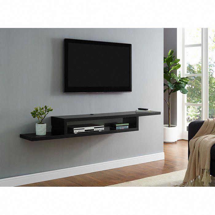Ascend Wall Mounted Tv Stand Tvwallmountdecor Bedroom Tv Wall Living Room Decor Tv Living Room Tv Stand