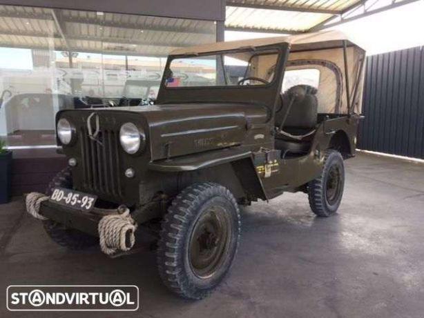 Jeep Willys CJ3B Universal preços usados