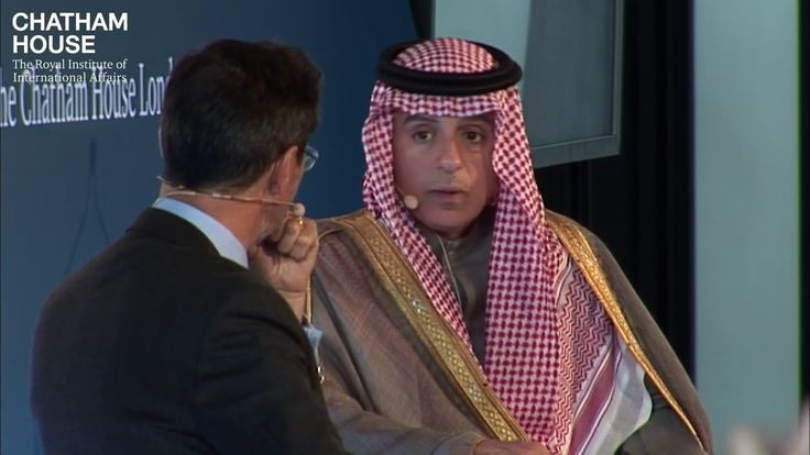 In Conversation with HE Adel al-Jubeir, Minister of Foreign Affairs, Sau...