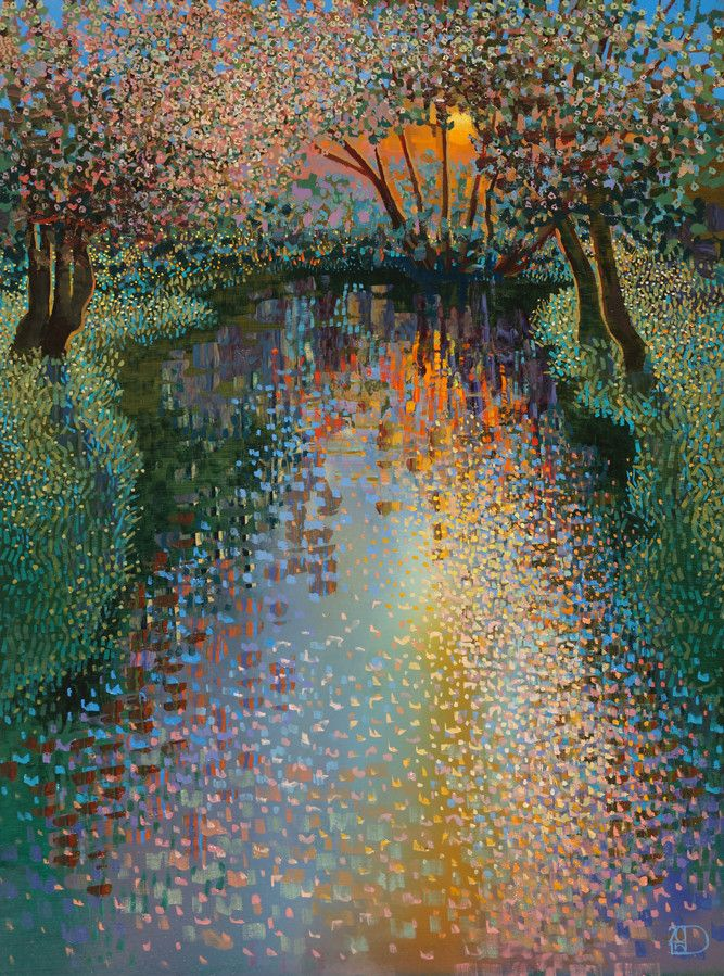 Colorful Landscape Paintings