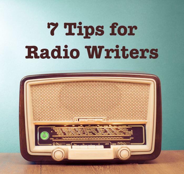 7 Tips for Radio Writers - advice from BBC Radio 4 commissioner Caroline Raphael on breaking into radio. #writing #radio #scriptwriting