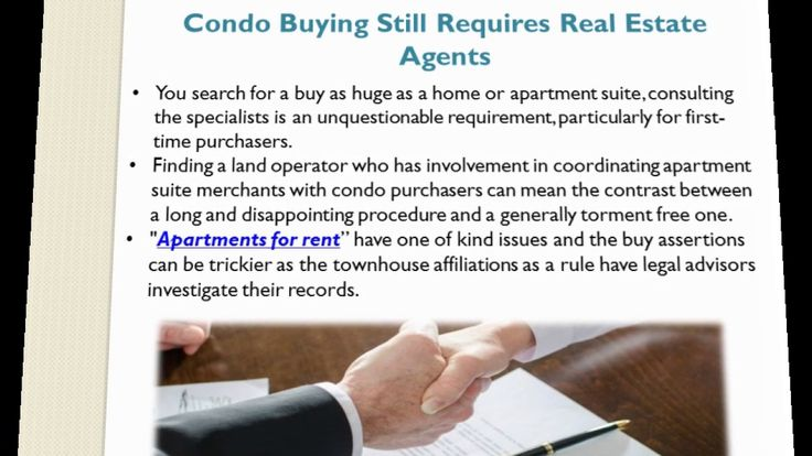 Living in a condo is not generally the right choice for everybody. Ensure you understand the duties, decides and charges that accompany being a condo owner. People choose buying condos for rent over single family homes or apartment renting for a few reasons.