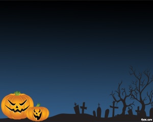 Scary Halloween Pictures for PowerPoint is a free template for PowerPoint ideally for Halloween