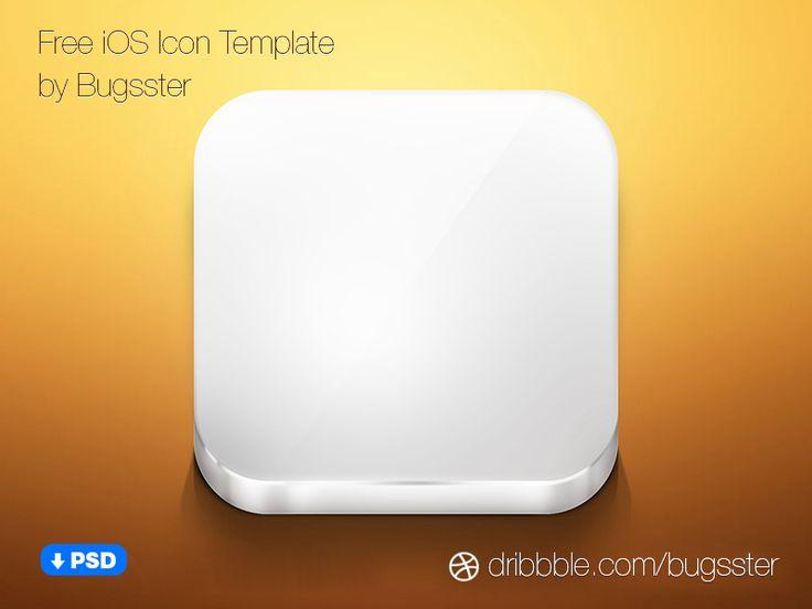 Free iOS Icon Template (PSD)