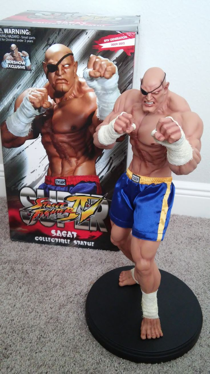 Sideshow Collectibles Exclusive Sagat Street Fighter Review