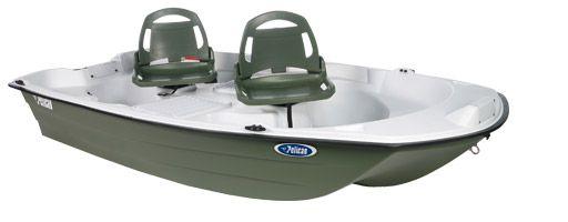 Pelican Boats Predator 10.3 2-Person Fishing Boat