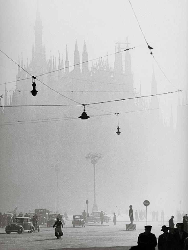 M<3 Gastone Lombardi La Cathédrale, Milano,1950