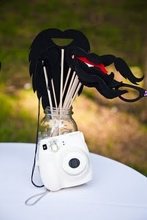 Polaroid Guest Book Idea - Love it! Fun. I think this would be fun for a wedding or reunion!