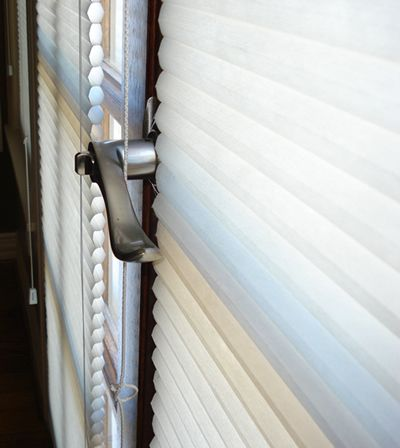 Cellular Blinds For French Doors French Door Light Filtering Shade