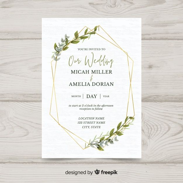 Download Wedding Invitation Template For Free Wedding Invitation Templates Wedding Invitations Wedding Invitation Card Template