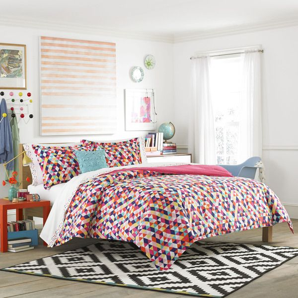 Teen Vogue Kaleidoscope 3-piece Comforter Set