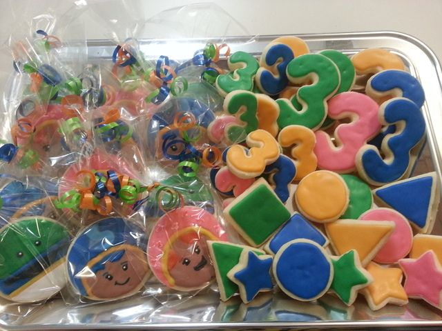 Photo 5 of 6: Team Umizoomi / Birthday Cohens 3rd birthday | Catch My Party. Could be part of the party favor bags or as a party food.