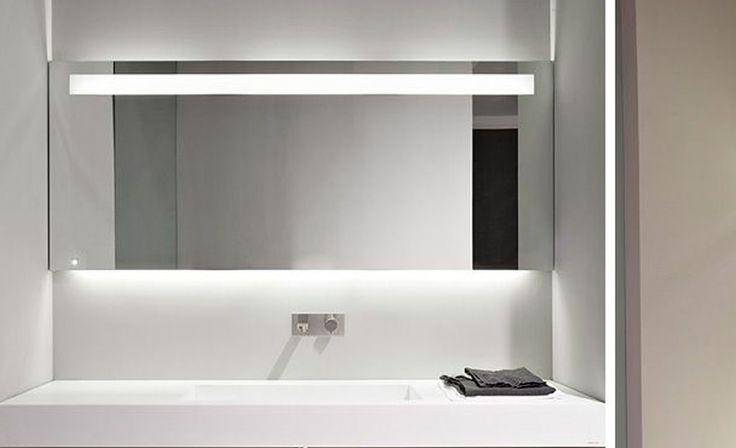 17 mejores ideas sobre espejos con luz en pinterest - Espejos de bano con luz ...