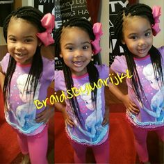 Kids box braids! #BraidsByMarijke