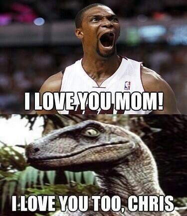 chris bosh raptor meme - photo #5