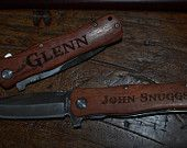 1 Engraved Knife, custom knife, personalized knife, engraved knives, groomsman gifts, groomsmen gifts, wedding gifts,