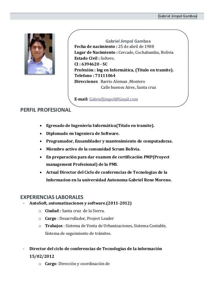 Curriculum Vitae 1 Hoja Modelo De Curriculum Vitae Curriculum Vitae Curriculum Words