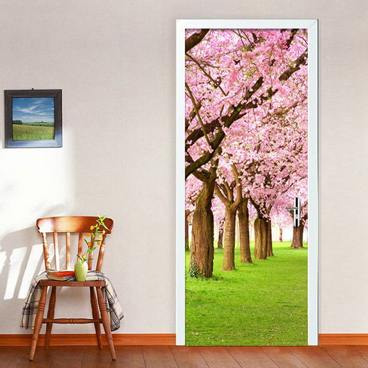 Best 25 Door Murals Ideas On Pinterest Door Stickers