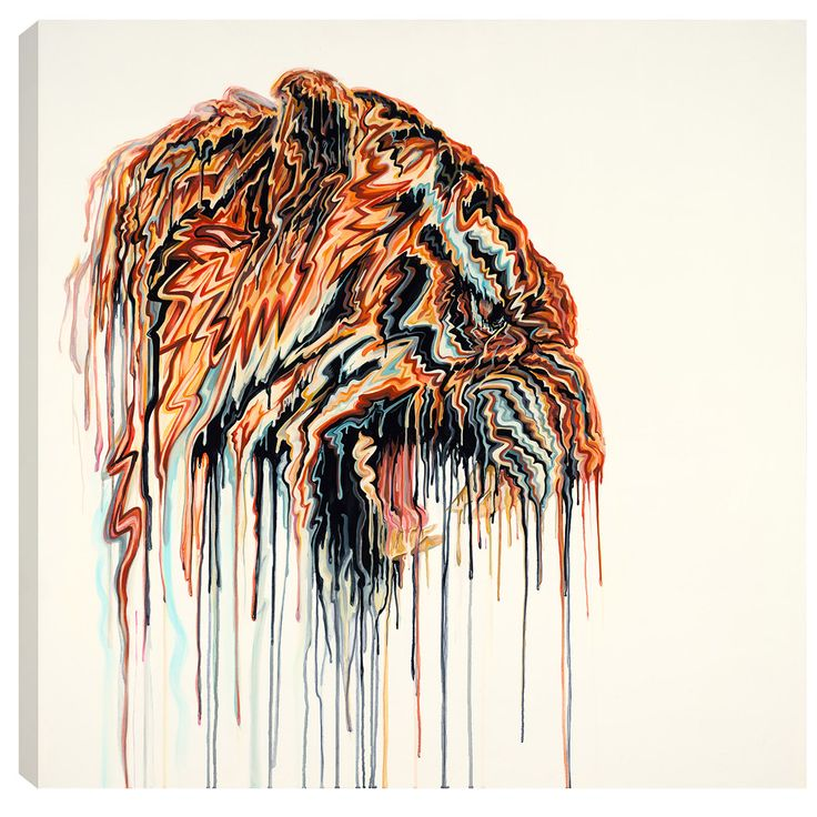 Signed limited edition boxed canvas by Robert Oxley entitled Ranthambore