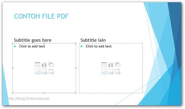Cara Merubah Semua File MS Office ke PDF