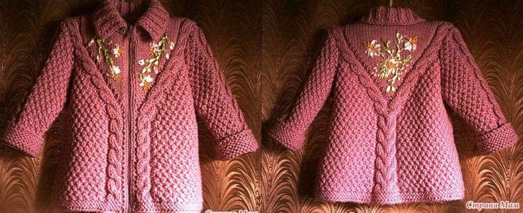 Todo Para Crear Abrigos Para Ni 241 Os En Crochet Y Dos
