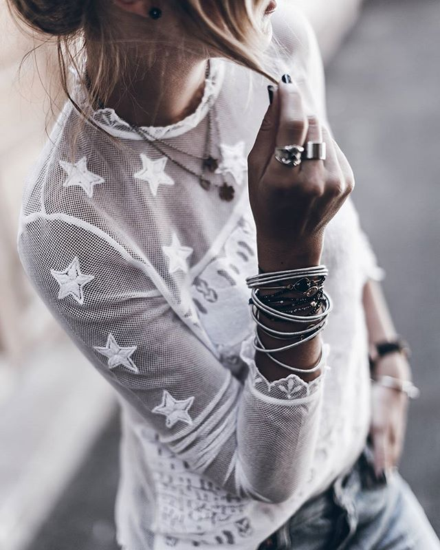 Lace  New post up on the blog with more pics and details of this look! (Link in bio)  #ootd #zadigetvoltaire #stars