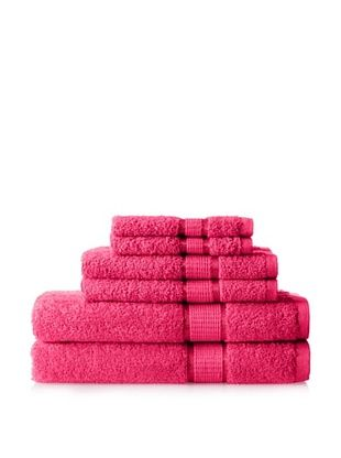 50% OFF Espalma Ambassador 6-Piece Towel Set, Hot Pink