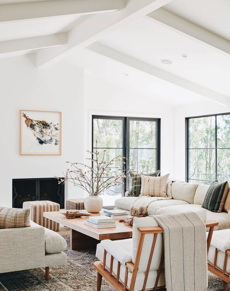 Generally You Would Put A Tv In The Family Room But I Like How They Didn T Put One Here Th In 2020 House Interior Living Room Design Modern Living Room Decor #traditional #living #room #pictures