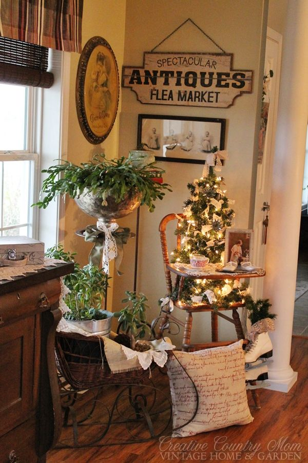 Creative Country Mom's Vintage Home and Garden: Sweet New Finds in the New Year....